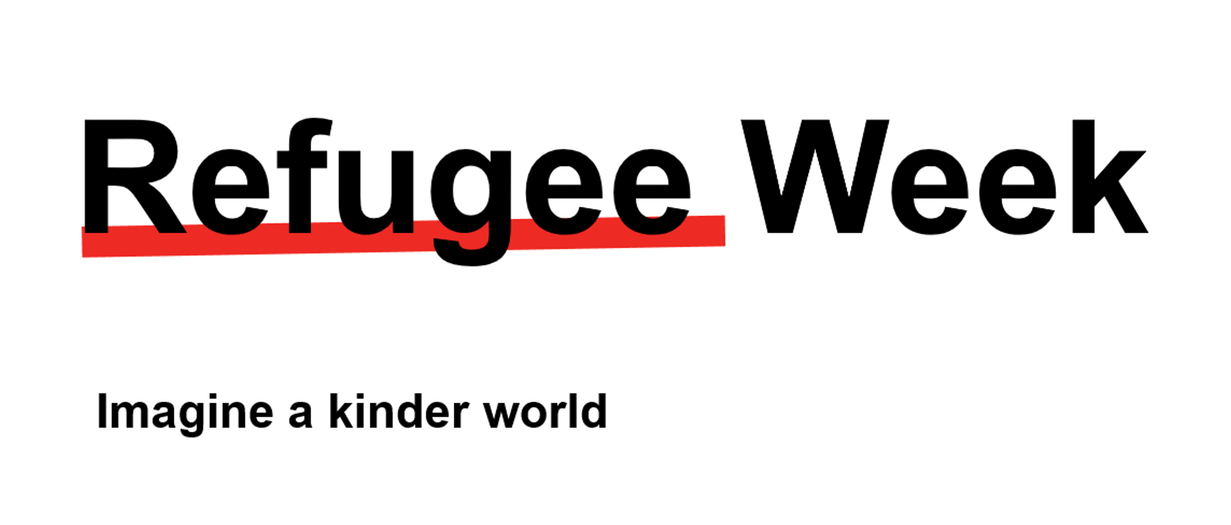Refugee Week 15 June to 21 June2020